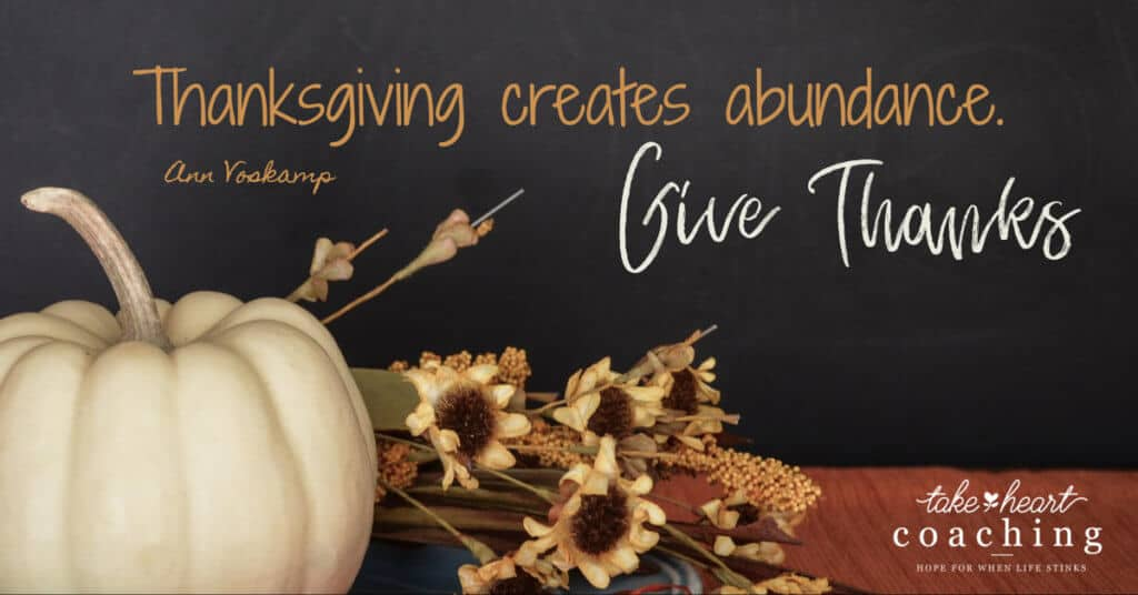 A Grateful Heart Makes Caregiving Easier