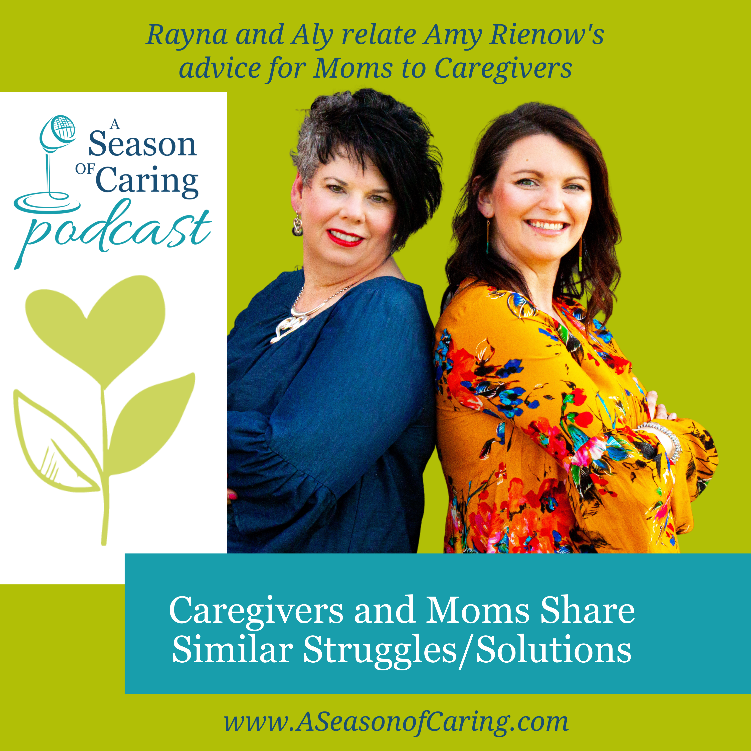 Caregivers and Moms Share Similar Struggles/Solutions