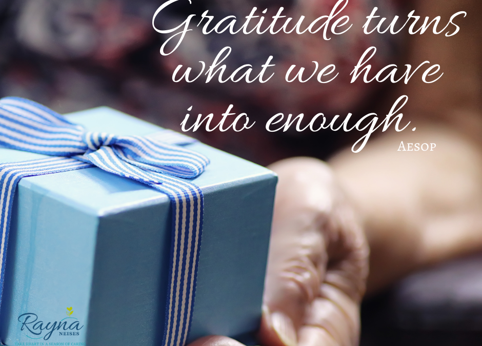 Want more happiness?  Try Gratitude