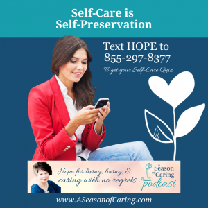 Self-care is Self-preservation